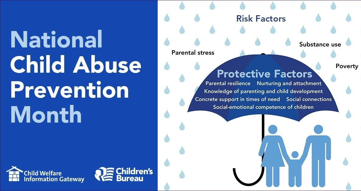 Child Abuse Prevention Month Infographic