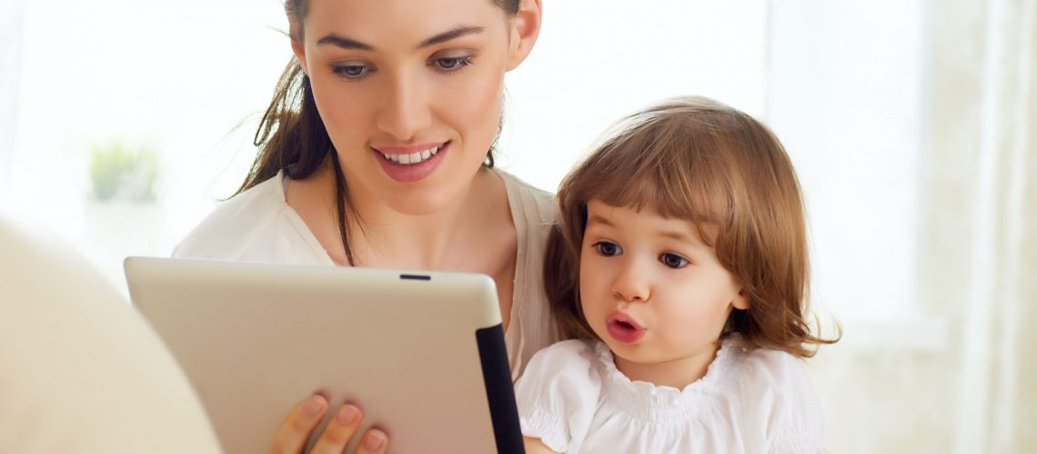 mom and daughter in telemedicine visits